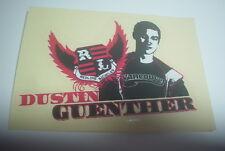 AUTHENTIC Old School BMX REDLINE DUSTIN GUENTHER sticker VINTAGE NOS