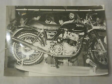 Vintage - photo de moto NORTON 850 COMMANDO