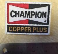 Vintage Champion Spark Copper Plus Plugs Racing Uniform  Jacket Patch