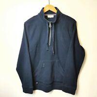 Women's Coldwater Creek Sweatshirt Size Medium Quarter Zip Jumper Fleece VTG