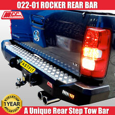 MCC4x4 022-01 Rear Rocker Bar To Suit Holden Colorado RG - 2012 ON 'BEST DEAL'