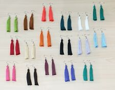 Tassel Fashion  Earrings  33 Colours  40mm 50mm long
