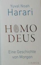 Homo Deus eine geschichte von morgen. Yuval Hoam Harari. Gebunden 1A Zudtand...