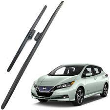 Genuine OEM Set Front Windshield Wiper Blades For 2018-2020 Nissan Leaf MK2 LHD