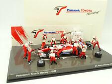 Minichamps 1/43 - F1 Pit Stop Diorama Toyota Panasonic TF103 Panis