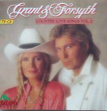 GRANT & FORSYTH  - COUNTRY LOVE SONGS VOL.2 - CD