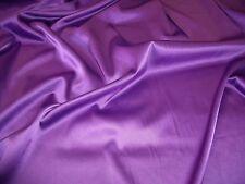 Estiramiento raso-Morado-Vestido fabric-free de envío