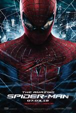 "Marvel AMAZING SPIDER-MAN 2012 Original DS 2 Sided 27x40"" Movie Poster Garfield"