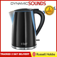 Russell Hobbs 21400 1.7 Litre 3000W Mode Electric Jug Kettle In Black Gloss