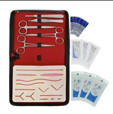 Suture Practice Kit Surgical Training Tool Medical Veterinarian Student With Pad
