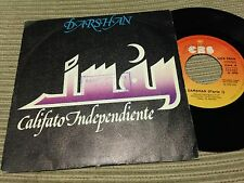 "IMAN CALIFATO INDEPENDIENTE - DARSHAN 7"" SINGLE CBS 78 PROG ROCK PROGRESIVO"