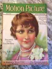 Original May 1927 Motion Picture Magazine Movie Star Patsy Ruth Miller On Cover