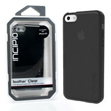 GENUINE INCIPIO IPHONE 5C FEATHER ULTRA THIN CASE COVER | BLACK