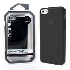 GENUINE INCIPIO IPHONE 5C FEATHER ULTRA THIN CASE COVER   BLACK