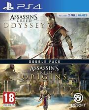 Assassin's creed origen + odisea Doble Pack (PS4) (Nuevo)