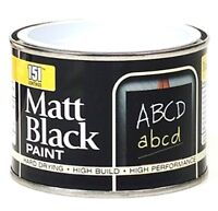 151 Black Board School Blackboard Paint Chalk Board Matt 180ml Durable Reviver