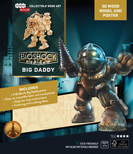 Bioshock Big Daddy 3d Wood Model And Poster  - BRAND NEW