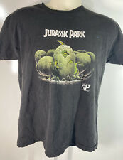 1993 Jurassic Park Vintage Single Stitch T-Rex Dinosaur Eggs Hatching Youth XL