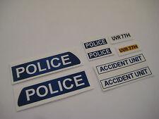 Dinky 287 - Police Bedford Van Stickers - B2G1F