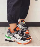 Scarpe da Ginnastica Donna Sneaker Sportive Zeppa Para Platform COMODE MODA ITA