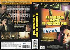 IL GIORNO IN CUI IL MONDO FINI' (2001) vhs ex noleggio