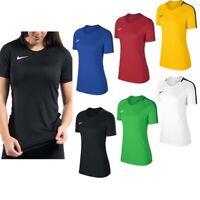 Nike Womens T Shirts TShirt T-Shirt Dry Academy Ladies Football Training Tops
