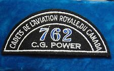CANADA Royal Canadian Air Cadets C. G. POWER 762 squadron shoulder flash