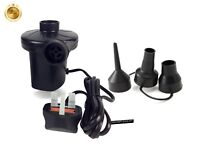 240V Electric Air Pump Inflator For Inflatables Airbeds Pools Sofa Toys Camp
