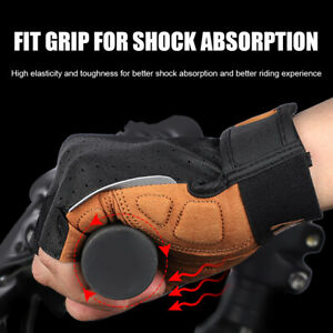 Half Finger Cycling Gloves Bike Bicycle Gel Padded Anti Slip Gloves Breathable