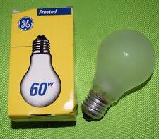 GE General Electrics Glühlampen 60W E27 matt Glühbirnen Glühlampe (448)