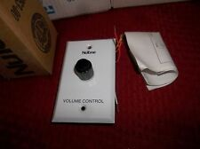 New Nutone IC1000 Recessed STEREO VOLUME CONTROL WHITE