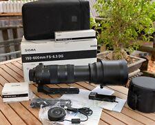 Sigma Sports 150-600 mm F/5.0-6.3 OS AF DG HSM mit Zubehör & Garantie