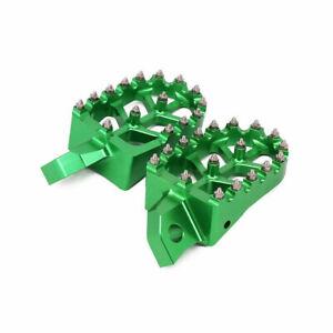 CNC Foot Pegs Footpegs Rest Pedals for KX500 KX125 KX250 KDX250 KX500 1988-2004