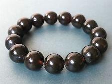 Round beads BALTIC AMBER Pressed Bracelet ladies 18g. #468 Bernstein ambra hupo