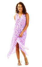 c76e72f4a9 Lilly Pulitzer Monica Beach Dress Beach Bathers Cover-up Amethyst XXS