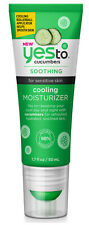 Yes To Cucumbers Soothing COOLING MOISTURIZER Sensitive Skin Moisturiser 50ml