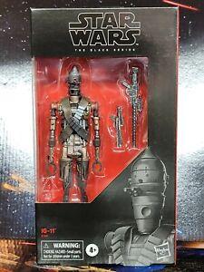 "Star Wars The Black Series IG-11. 6"" Action Figure. Nice Brand New Box. 2020"