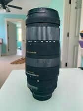 Sigma 120-400mm f/4.5-5.6 APO HSM DG OS AF Lens for Nikon with lens case, manual