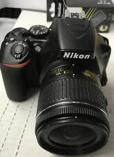 ✅ Nikon D3500 DSLR Camera with 18-55mm Black ‼️read Description ‼️