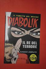 DIABOLIK N°1 IL RE DEL TERRORE- LIRE 150- LA 2° E 3° DI COPERTINA SONO BIANCHE