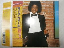Michael Jackson Off The Wall [+9] Japan CD EICP-1194 W/Obi