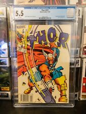 THOR #337 (1983) 1st App of Beta Ray Bill CGC 5.5 White Pages