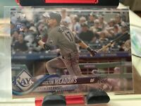 2018 Topps Update, Austin Meadows RC, Rookie Card# US34, Tampa Bay Rays