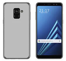 Funda de gel TPU transparente para Samsung Galaxy A8 (2018) Case