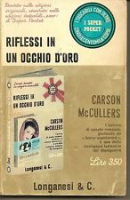 RIFLESSI IN UN OCCHIO D'ORO - CARSON McCULLERS