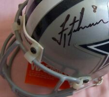 Troy Aikman autographed signed Dallas Cowboys authentic Riddell mini helmet UDA