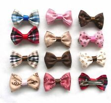5 pcs Dog Hair Bows set Puppy Cat Pet Clips  Grooming   Fashion Accessories UK