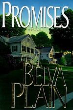 Promises by Belva Plain ex-library Hardcover Book dust jacket Good condition