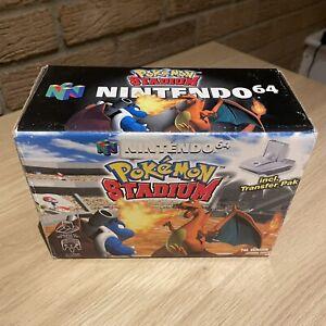 Pokemon Stadium Including Game Boy Transfer Pack Boxed, Manuals Nintendo 64, N64