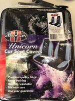 "Aunger "" Unicorn"" car seat covers pair."